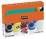 Pébéo 230300 Gouache Pack Primarios 5 tubos 100 ml surtidos