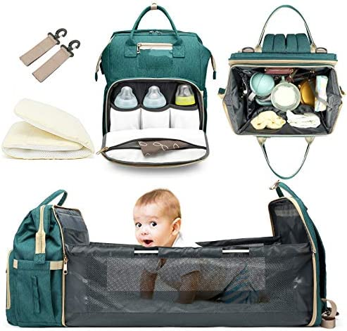 Innovation Diaper Bag Bassinet Portable Changing Station Good Storage for Travel Light and Practical product image