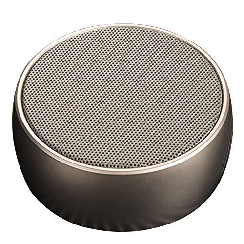Altavoz Bluetooth, Altavoz Estéreo Portátil, Potente Efecto De Triple Bajo, Tiempo De Reproducción A Prueba De Agua 24 Horas con Alimentación Móvil Y Manos Libres (Color : Gold)