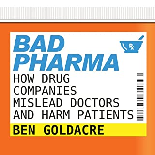 Bad Pharma audiobook cover art