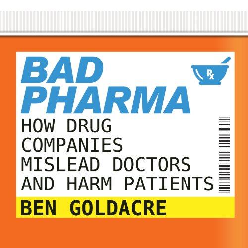 Bad Pharma audiobook cover art