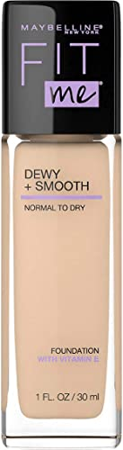 Maybelline Fit Me Dewy and Smooth Luminous Liquid Foundation - Classic Ivory 120