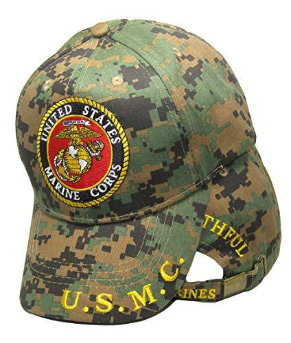 Trade Winds Marines Marine Corps EGA USMC Always Faithful Marpat Camo Embroidered Cap Hat
