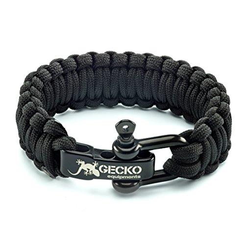 Gecko Equipment Paracord Survival Bracelet