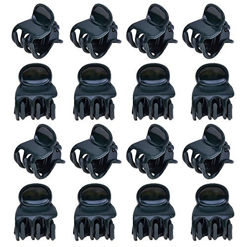 Outus 100 Pack Orchid Clips, Plant Clips, Orchid Support Clips Flower and Vine Clips for Supporting Stems Vines Grow Upright, Dark Green