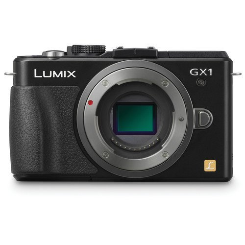 Panasonic Lumix DMC-GX1 16 MP Micro 4/3 Compact System Camera with 3-Inch LCD Touch Screen Body Only (Black) (Renewed)