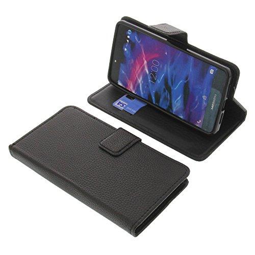 foto-kontor Tasche für MEDION Life X5020 Book Style schwarz Schutz Hülle Buch