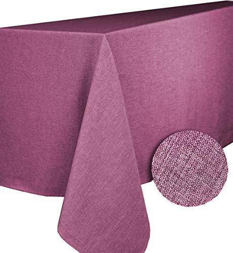 Calitex Brom tafelkleed rechthoekig polyester framboos 150 x 350