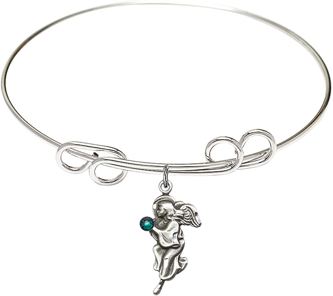 8 inch Round Double Loop Bangle 25% OFF Angel Guardian Bracelet a with free c