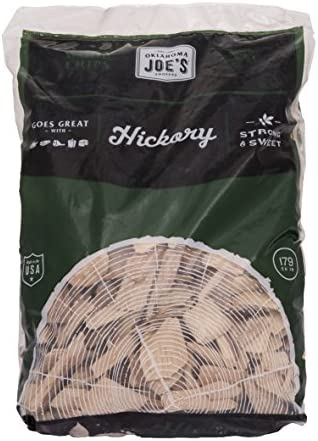 Oklahoma Joe's Hickory Wood Smoker Chips, 2-Pound Bag