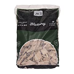 Oklahoma Joe's hickory wood chips are the best way to get a long last burn in the cooker and to infuse great taste into meats For use with smokers and electric, gas or charcoal grills Ideal for smoking meats, poultry, vegetables and fish Made of all ...