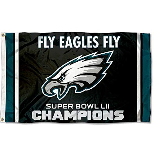 WinCraft Philadelphia Eagles Fly Eagles Fly Super Bowl Champions Flag