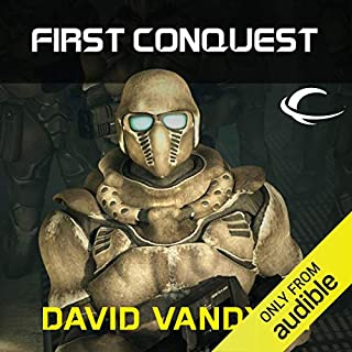First Conquest audiobook cover art