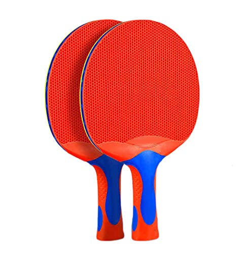 Purchase KATUEF Outdoor 2-Person Table Tennis Rackets Set, All-Weather Waterproof ping Pong Paddle, ...