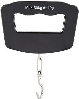 Bagagem portátil portátil de viagem balança eletrônica 50 kg/10 g LCD digital para pendurar mala de peso com luz de fundo ...