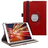 kwmobile Asus ZenPad 3S 10 (Z500M) Hülle - 360° Tablet Schutzhülle Cover Case für Asus ZenPad 3S 10 (Z500M) - Rot
