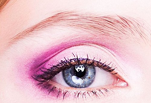 Ombretto Eyeshadow Make Up Glitter by Glam Stripes–Lotus Pink... New