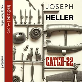 Catch 22                   By:                                                                                                                                 Joseph Heller                               Narrated by:                                                                                                                                 Trevor White                      Length: 16 hrs and 20 mins     219 ratings     Overall 4.4