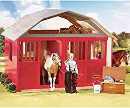 Breyer Traditional Series Two-Stall Horse Barn Toy Model   21