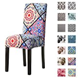 Padgene Stretch Dining Chair Covers Removable Washable Spandex Slipcovers Chair Protective Covers