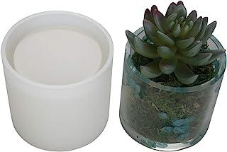 "Big DIY Cylinder Resin Plant Mold, Internal Diameter 2.95"", Internal Depth 2.95"", Cylinder Silicone Molds, DIY Flower Pot ..."