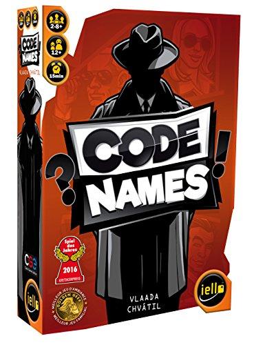 IELLO 51285 CodeNames – Gesellschaftsspiel –Französische Version