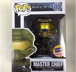 Funko Pop Halo 4 Blockbuster Exclusive Gold Master Chief 03