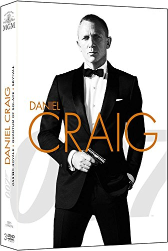 James Bond 007-Daniel Craig : La Trilogie : Casino Royale + Quantum of Solace + Skyfall