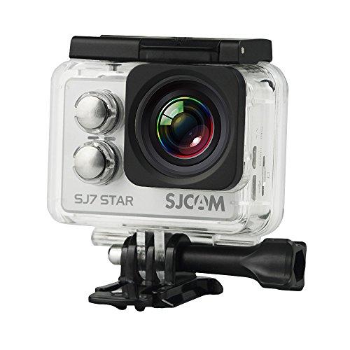 "SJCAM SJ7 STAR SLV ""STAR 4K NATIV"" Actionkamera 16MP Touchscreen Sony Sensor WLAN HDMI Wasserdicht silber"