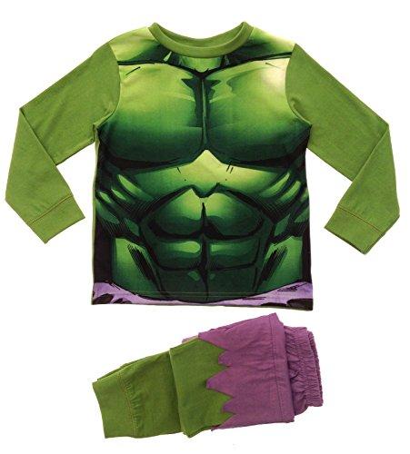 Lora Dora, Costume per bambini utilizzabile anche come pigiama, motivo: Buzz Lightyear, taglia: 2-3anni verde Incredible Hulk Novelty Pj's 7-8 anni