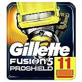 Gillette Fusion5 Proshield Lames de Rasoir Homme, Pack de 11 Recharges [OFFICIEL]
