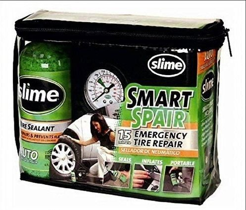Slime Smart Spair bandenpomp met compressor