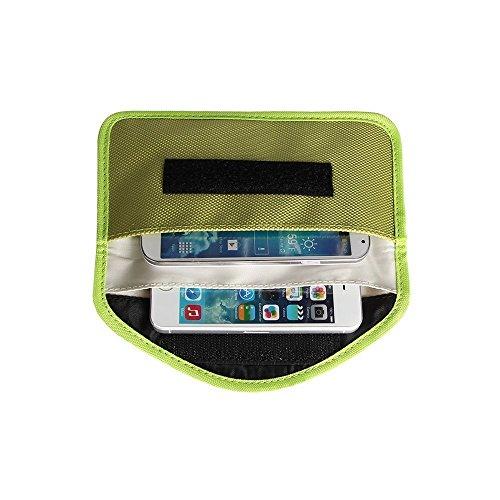 Leinwand-Schutz Anti-Radiation Anti-Tracking-Anti-Spion Signal Blocking-Fall-Beutel Handset Funktion Tasche für iPhone 6S, 6SPlus,6, 6 Plus, iPhoneSE,5S, iPhone 5C, iPhone 5, iPod Touch, Samsung, HTC, Motorola, Sony, GPS, Speicherkarten und andere el