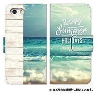 スマホケース 手帳型 iPhone8 ケース 8241-B. summerB iPhone8 ケース 手帳 [iPhone8] アイフォンエイト