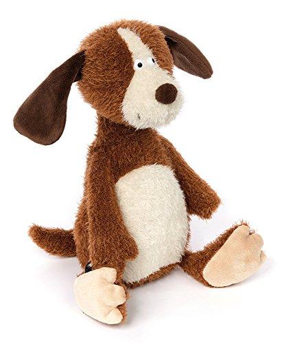 sigikid, Stofftier für Erwachsene und Kinder, Hund, AchGoood Family und Friends, Braun, 38722