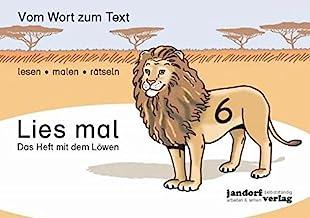 Lies mal Heft 6 - Das Heft mit dem Lowen (German Edition)