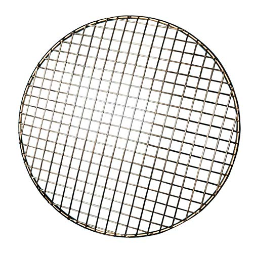 Turbokey Cooling Rack Dia 7' Round Stainless Steel Cross Wire Barbecue Carbon Baking Net Grill Pan Grate for Instant Pot/Pressure Cooker/Oven (180mm/7')