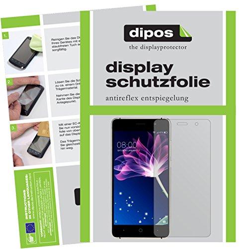 dipos I 2X Schutzfolie matt kompatibel mit Doogee X10 Folie Bildschirmschutzfolie
