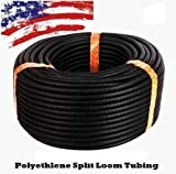 Absolute USA SLT12 1/2-Inch x 100-Feet Split Loom Tube