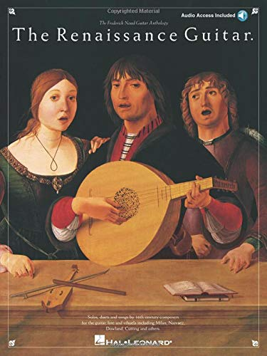 The Renaissance Guitar: Noten, CD für Gitarre (The Frederick Noad Guitar Anthology)