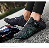 YURU Unisex Road Bike Shoes,Adults' Cycling Shoes,Cushioning Breathable Non-Slip Professional Mountain Cycling Shoes,Multi-colored-EU44