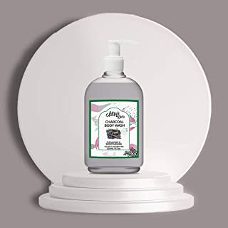 Mirah Belle - Charcoal Body Wash - Acne, Blemishes, Infection Prone Skin - Best for Men and Women - Vegan, Cruelty Free - ...