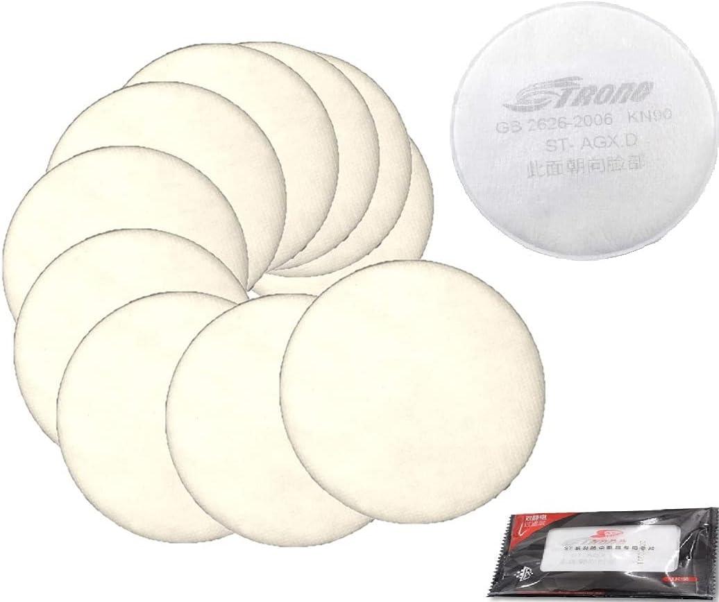 Inexpensive 20 pack Pre-filter Max 49% OFF Organic Vapor Cartridge cot Filter Respirator