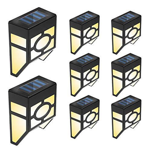 Otdair Solar Deck Lights