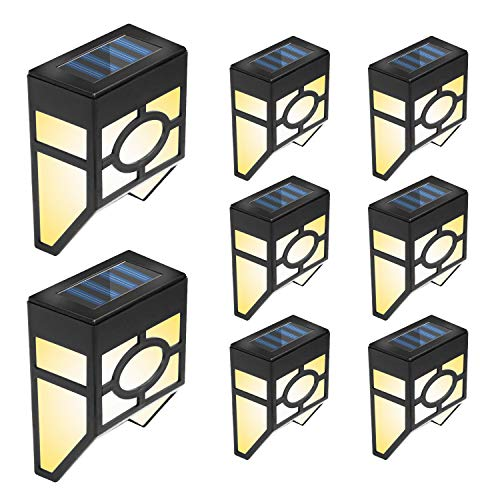 Otdair Solar Deck Lights
