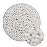 CGOLDENWALL - Sfere di zirconio ZrO2, sfere in ceramica con zirconia cubica, ideali per fresare mulini planetari, agitare, mulini a rulli, levigatrici (5 mm)