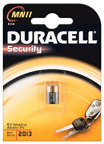 DURACELL Lot de 3 Piles Sécurity MN 11 6V blister de 1