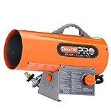 Dyna-Glo Pro 60,000 BTU Forced Air Propane Portable Heater RMC-FA60DGP
