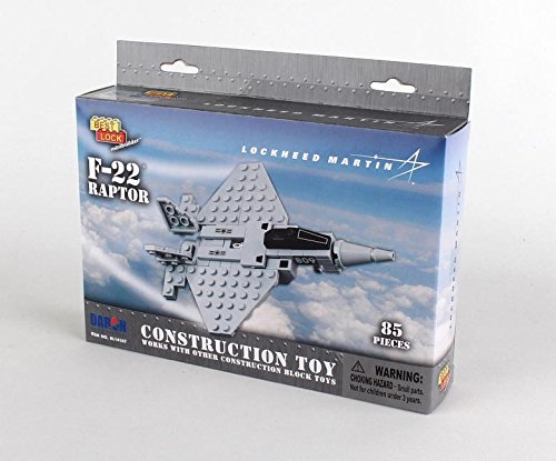 Daron F-22 Best Lock Construction Toy (80 Pieces)