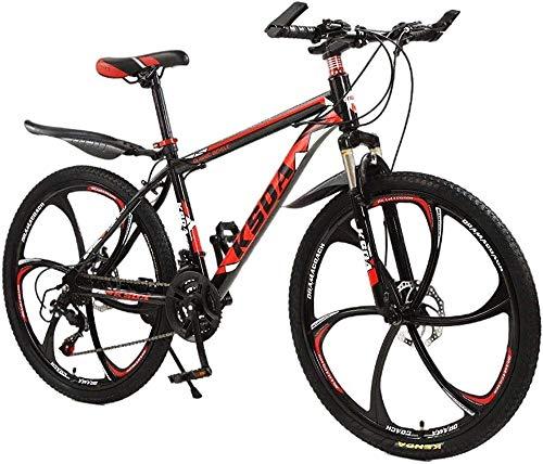 Bicicletas de montaña para Adultos y Bicicleta de Carretera Bicicleta de montaña Completa Stone Mountain 26 Pulgadas Bicicleta de 21 velocidades Dirt Bike